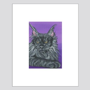 Maine Coon Cat Small Poster