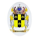 Simononsky Oval Ornament