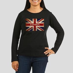 London - Union Jack Long Sleeve T-Shirt