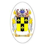 Simonich Sticker (Oval 50 pk)