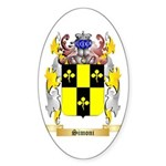 Simoni Sticker (Oval 50 pk)