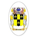 Simonet Sticker (Oval 50 pk)