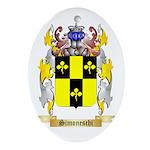 Simoneschi Oval Ornament