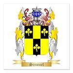 Simonel Square Car Magnet 3