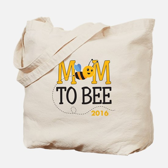 Mom to Bee Personalized Tote Bag