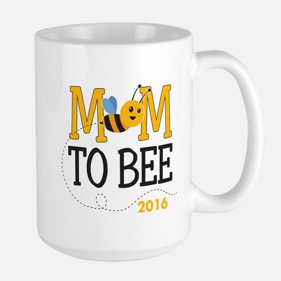 Mom to Bee Personalized Large Mug