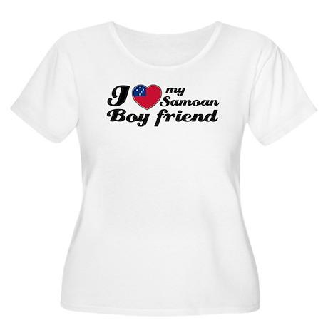 I love my Samoan Boyfriend Women's Plus Size Scoop