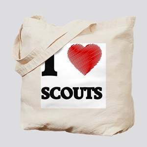 I love Scouts Tote Bag