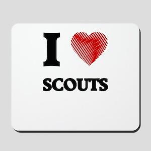 I love Scouts Mousepad