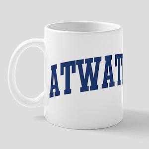 ATWATER design (blue) Mug