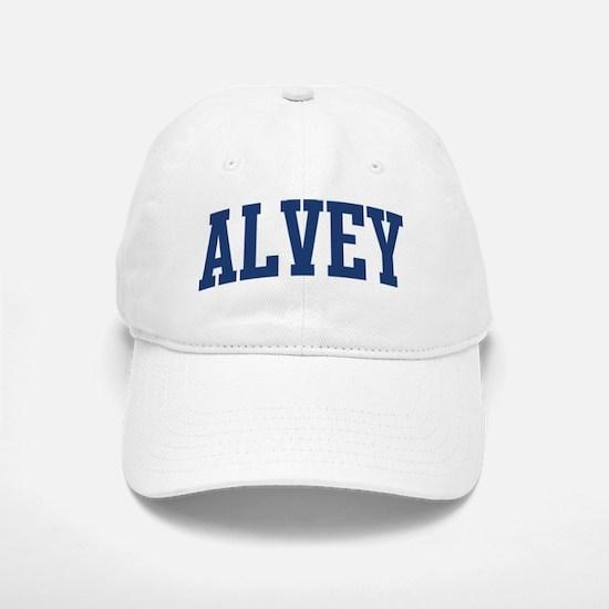 ALVEY design (blue) Baseball Baseball Cap