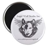 Angel Wolf Magnet