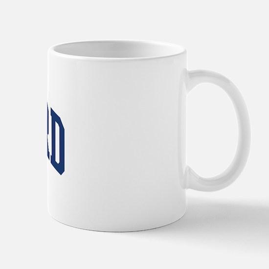 BARNARD design (blue) Mug