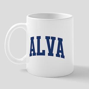 ALVA design (blue) Mug