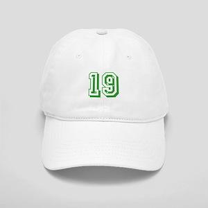 19 Green Birthday Cap