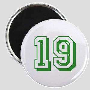 19 Green Birthday Magnet