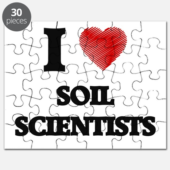 I love Soil Scientists Puzzle
