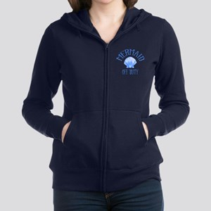 Mermaid Off Duty Women's Zip Hoodie