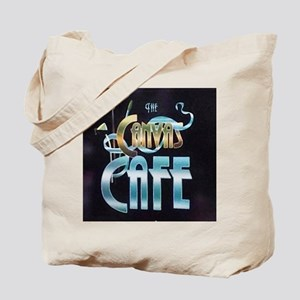 Canvas Cafe Logo Tote Bag
