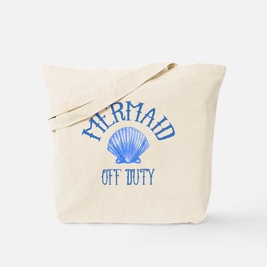 Mermaid Off Duty Tote Bag