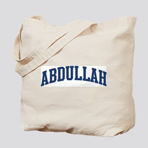 ABDULLAH design (blue) Tote Bag