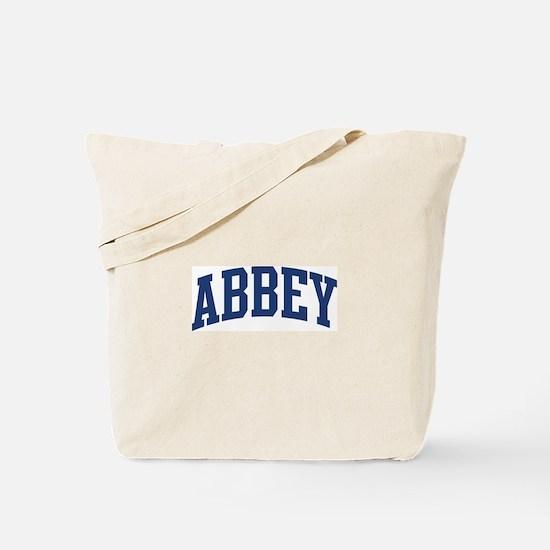 ABBEY design (blue) Tote Bag