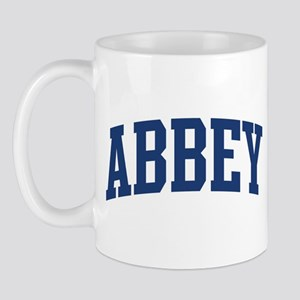 ABBEY design (blue) Mug