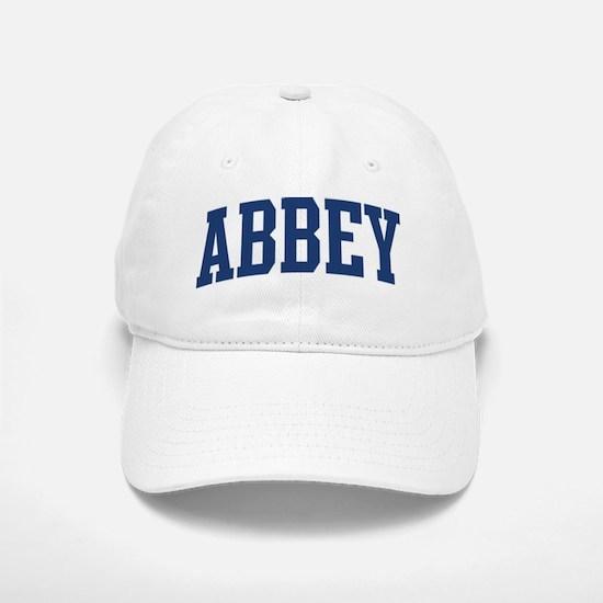 ABBEY design (blue) Baseball Baseball Cap