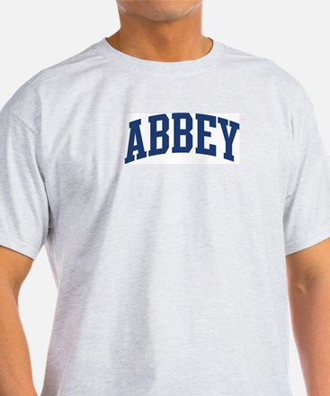 ABBEY design (blue) T-Shirt