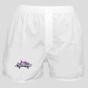 Bicycle Laying on Gurney Boxer Shorts