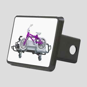 Bicycle Laying on Gurney Hitch Cover