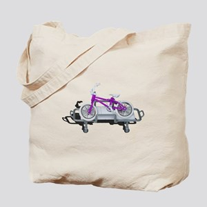 Bicycle Laying on Gurney Tote Bag