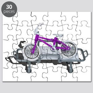 Bicycle Laying on Gurney Puzzle