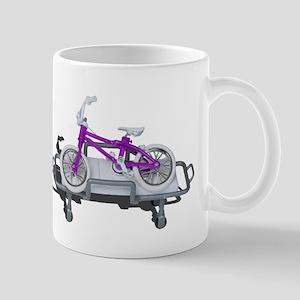 Bicycle Laying on Gurney Mugs