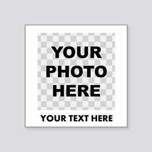 Your Photo And Text Sticker