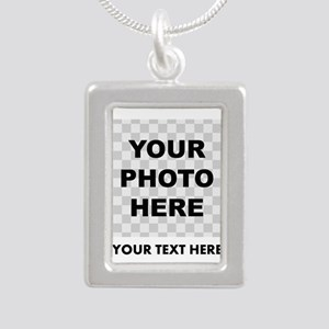 Your Photo And Text Necklaces