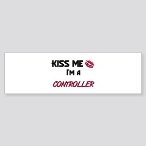 Kiss Me I'm a CONTROL ENGINEER Bumper Sticker