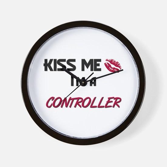 Kiss Me I'm a CONTROL ENGINEER Wall Clock