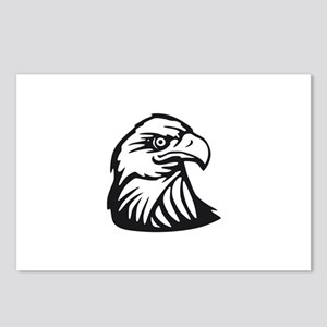 Eagle Head Postcards (Package of 8)