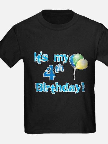 It's My 4th Birthday T