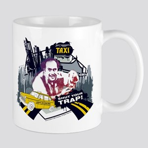 Taxi Shut Your Trap Mug