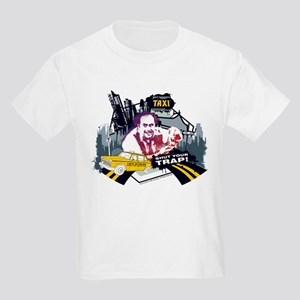 Taxi Shut Your Trap Kids Light T-Shirt