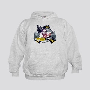 Taxi Shut Your Trap Kids Hoodie
