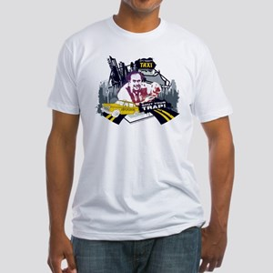 Taxi Shut Your Trap Fitted T-Shirt