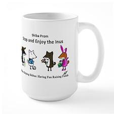 Stop and Enjoy the Inus Large Mug