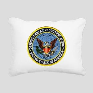 Threat Reduction Agency Rectangular Canvas Pillow