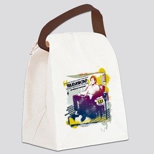 Taxi Change the Channel Canvas Lunch Bag