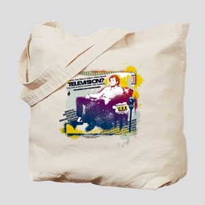 Taxi Change the Channel Tote Bag