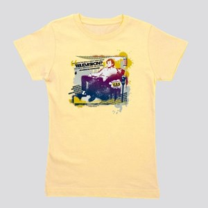 Taxi Change the Channel Girl's Tee