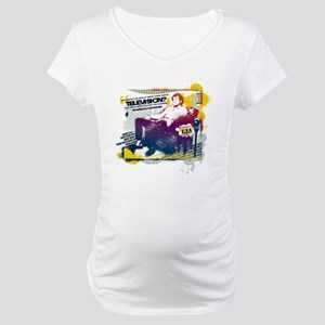Taxi Change the Channel Maternity T-Shirt